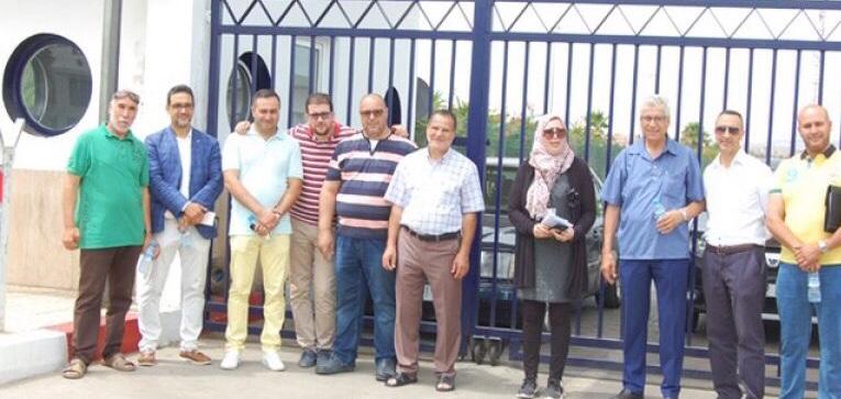 الإذاعة الأمازيغية بالرباط تحط الرحال بميناء بني أنصار في برنامج شيق للصحفية أمينة شوعة .