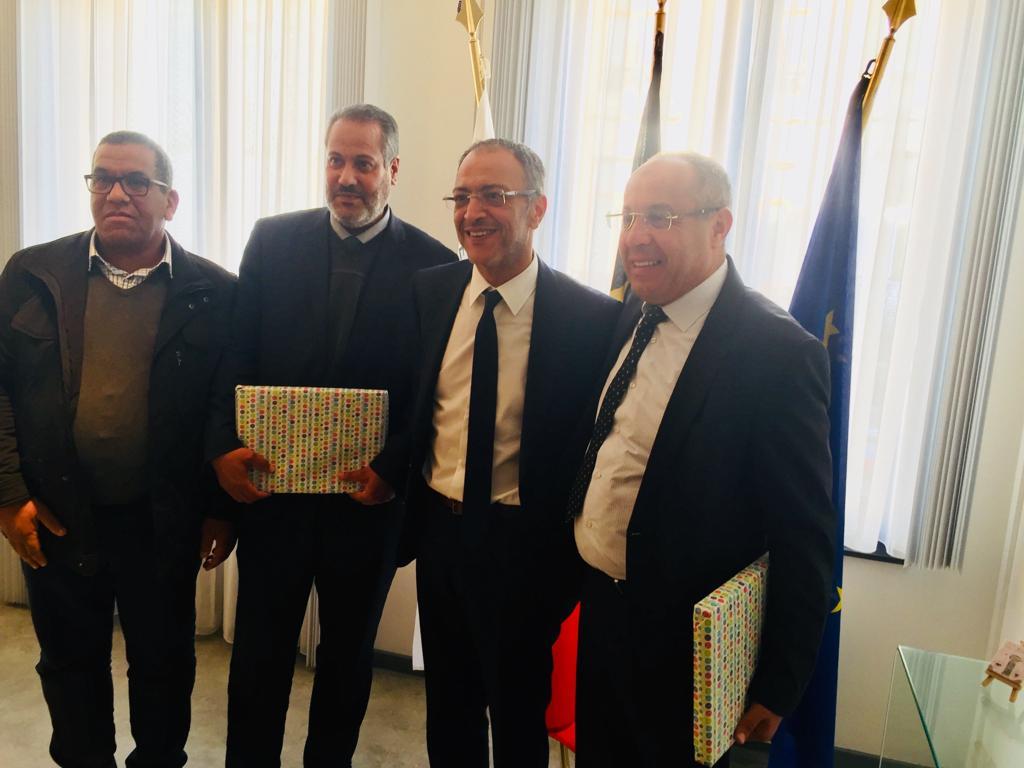 المجلس الجماعي لبركان يبصم على برنامج حافل بمجموعة من الأنشطة و اللقاءات المهمة ببلجيكا .
