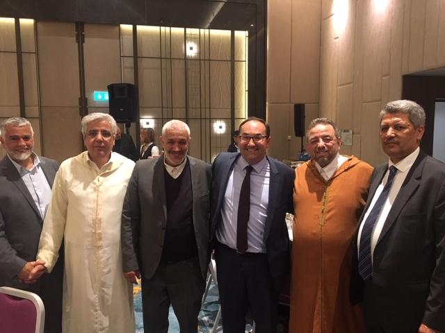 تجمع مسلمي بلجيكا ينظم حفل إفطار بهيج بحضور شخصيات بارزة من مختلف الأديان.