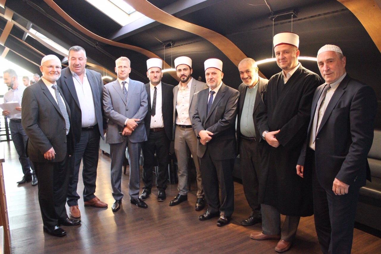مدينة نامور البلجيكية تحتضن حفل إفطار من تنظيم فدرالية المساجد الألبانية ببلجيكا.