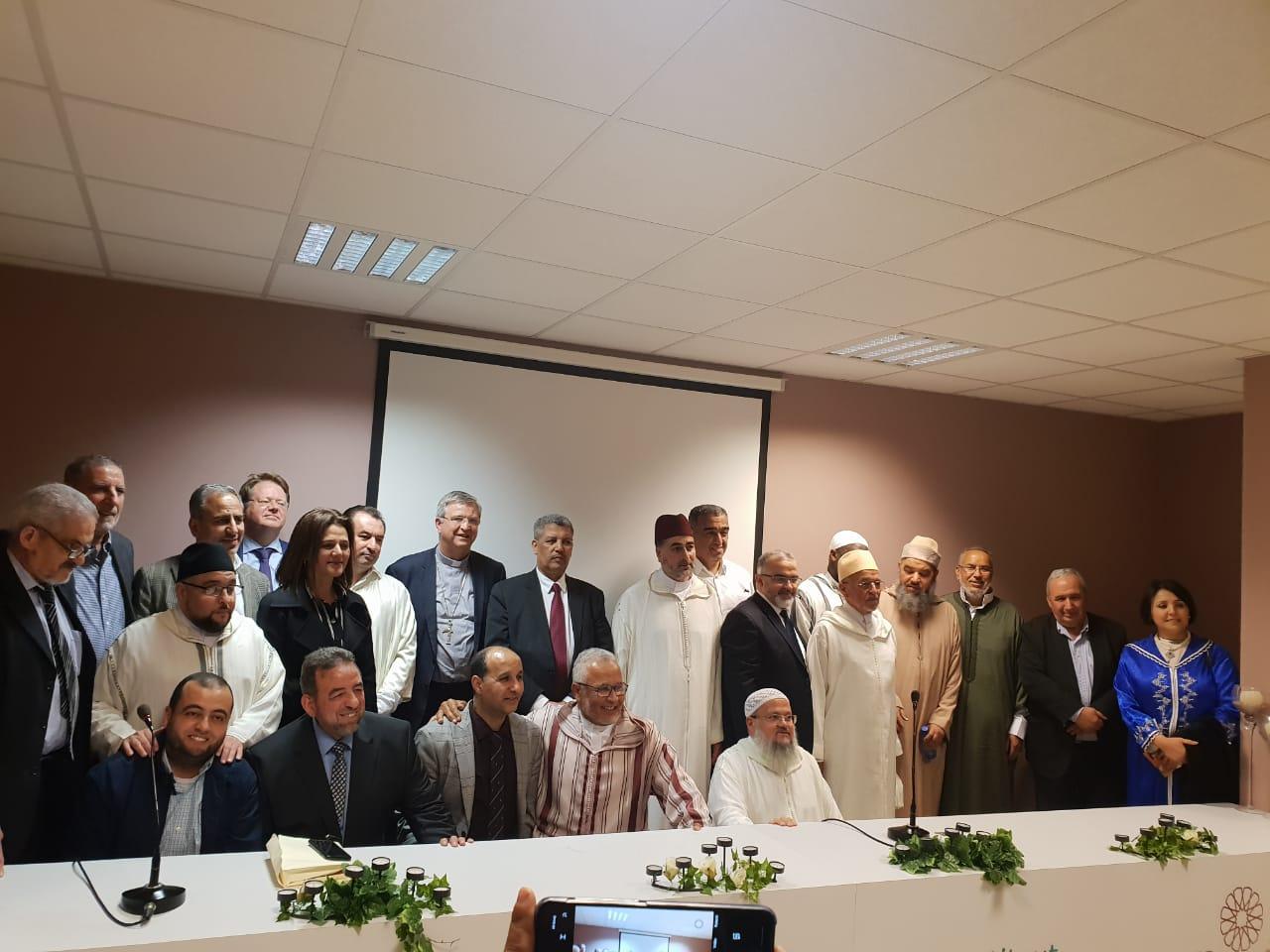 معهد جسر الأمانة للدراسات الإسلامية و فدرالية مساجد فلاندر ينظمان حفل إفطار بأنفرس.