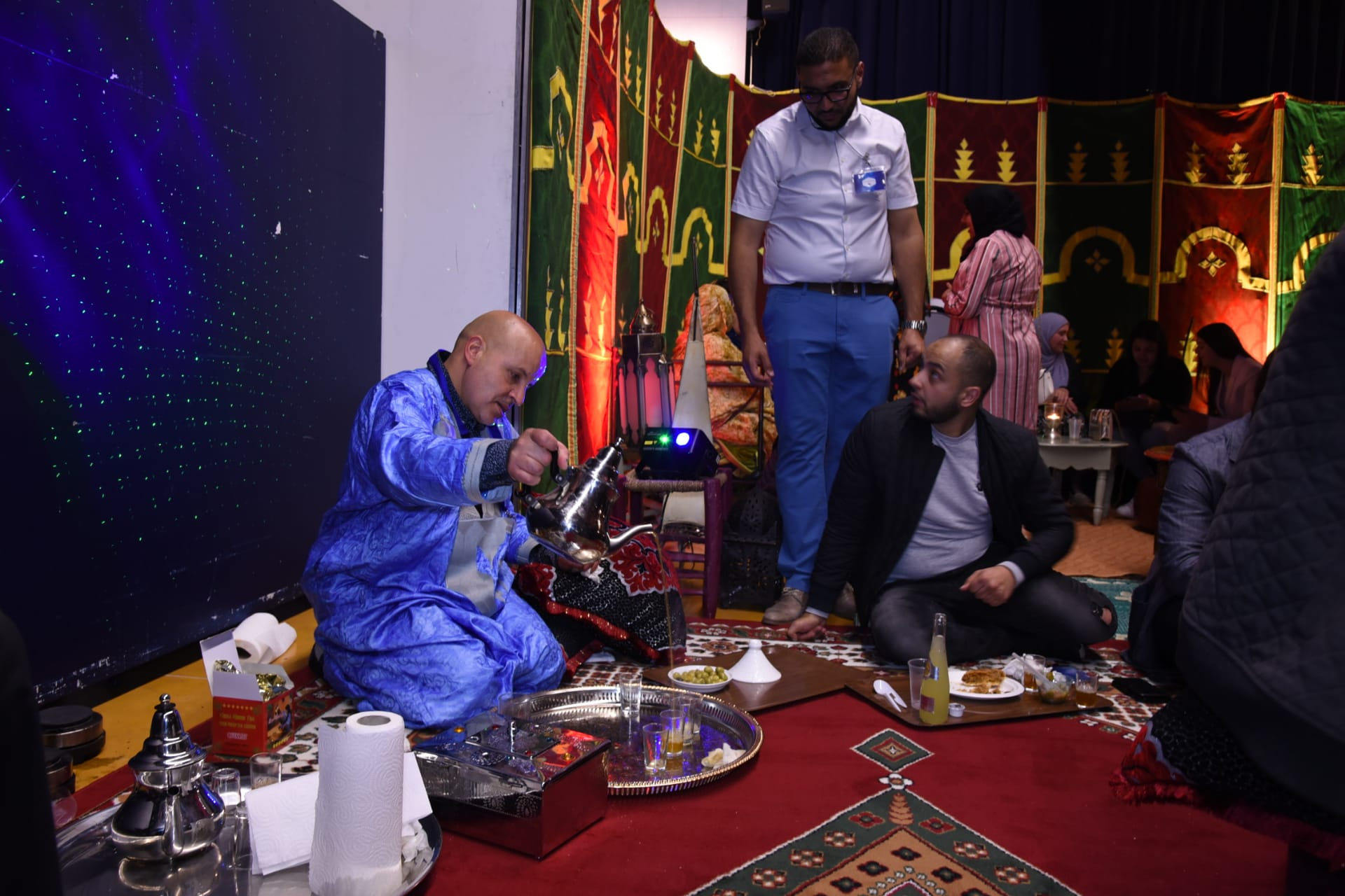 ربورتاج اليوم الثقافي الصحراوي المغربي بمدينة هاريلبيك البلجيكية