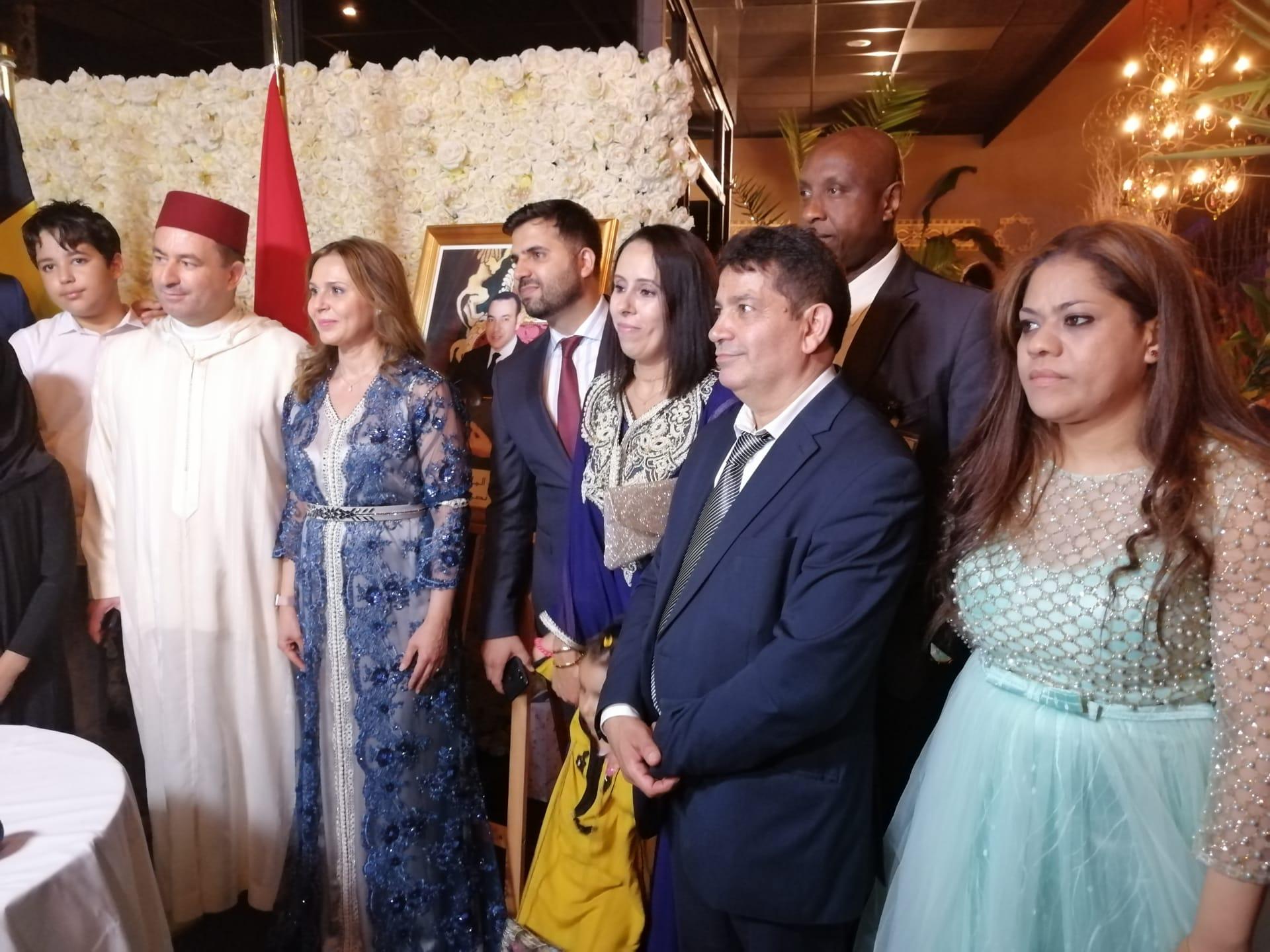 الجالية المغربية المقيمة بانفيرس تحتفل بعيد العرش المجيد