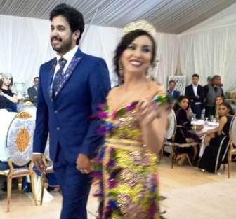 تهنئة حفل زفاف الآنسة المصونة لمياء كيسي