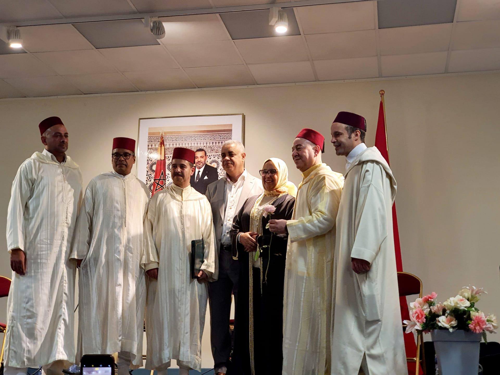 Grand succès de la soirée musicale et artistique au Consulat du Maroc à Bruxelles