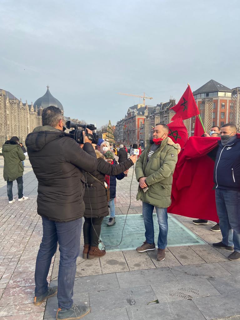 مغاربة جهة والونيا ودوقية لوكسمبورغ يتشبثون بمغربية الصحراء والوحدة الوطنية